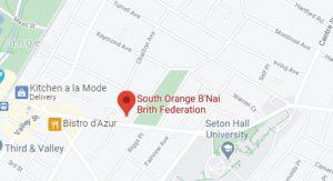 South Orange map image