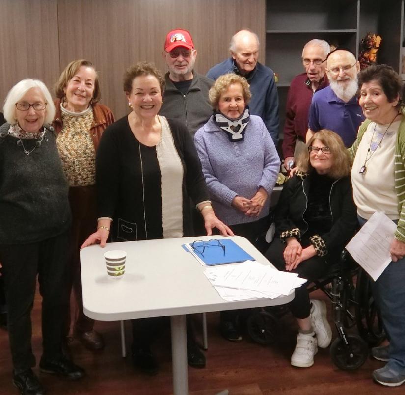 Celebrating Hanukkah at Village Apartments